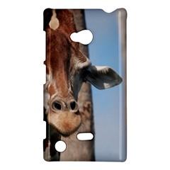 Cute Giraffe Nokia Lumia 720 Hardshell Case