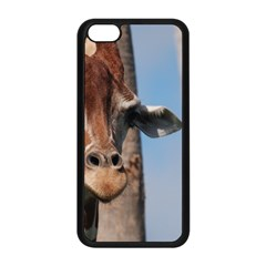 Cute Giraffe Apple iPhone 5C Seamless Case (Black)