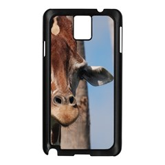Cute Giraffe Samsung Galaxy Note 3 N9005 Case (Black)