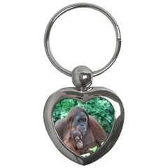 Orangutan Family Key Chain (heart)