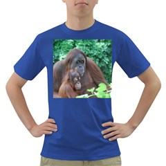 Orangutan Family Men s T-shirt (Colored)