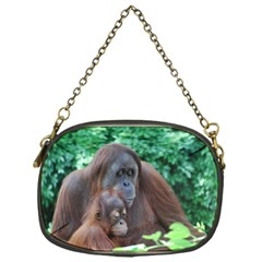 Orangutan Family Chain Purse (One Side)