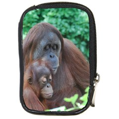 Orangutan Family Compact Camera Leather Case