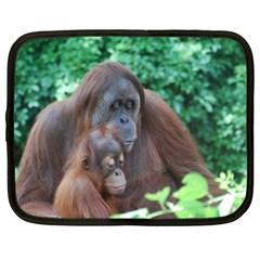 Orangutan Family Netbook Sleeve (XL)