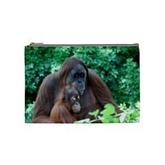 Orangutan Family Cosmetic Bag (Medium)