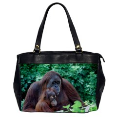 Orangutan Family Oversize Office Handbag (One Side)