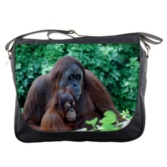 Orangutan Family Messenger Bag