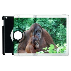 Orangutan Family Apple iPad 3/4 Flip 360 Case