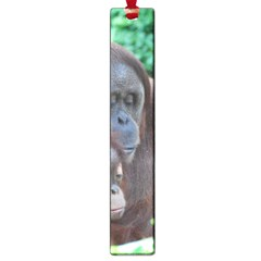 Orangutan Family Large Bookmark