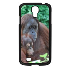 Orangutan Family Samsung Galaxy S4 I9500/ I9505 Case (black)