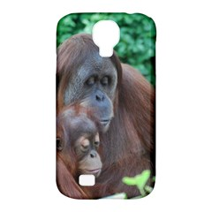 Orangutan Family Samsung Galaxy S4 Classic Hardshell Case (PC+Silicone)