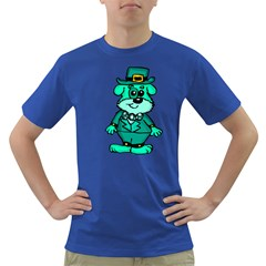 Leprechaun Scottish Dog 2 Men s T-shirt (Colored)