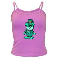 Leprechaun Scottish Dog 2 Spaghetti Top (colored)