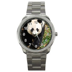 Giant Panda Sport Metal Watch