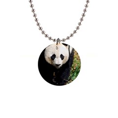 Giant Panda Button Necklace
