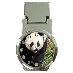 Giant Panda Money Clip with Watch