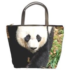 Giant Panda Bucket Handbag