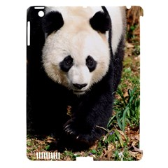 Giant Panda Apple iPad 3/4 Hardshell Case (Compatible with Smart Cover)