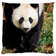 Giant Panda Large Cushion Case (Single Sided)