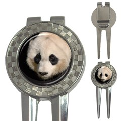 Adorable Panda Golf Pitchfork & Ball Marker