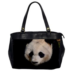 Adorable Panda Oversize Office Handbag (one Side)