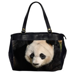 Adorable Panda Oversize Office Handbag (Two Sides)