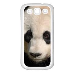 Adorable Panda Samsung Galaxy S3 Back Case (White)