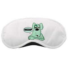 Irish Drunk Green Dog 0 Sleeping Mask