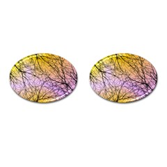 Branches Cufflinks (Oval)