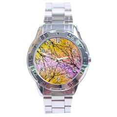 Branches Stainless Steel Watch