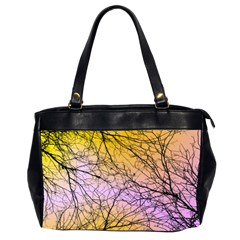 Branches Oversize Office Handbag (Two Sides)