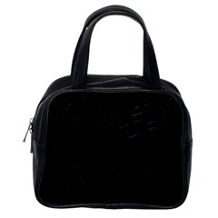 Black Classic Handbag (One Side)
