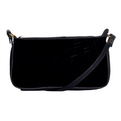 Navy Blue Shoulder Clutch Bag