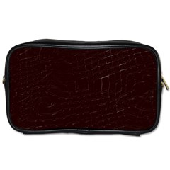 Burgundy Toiletries Bag (Two Sides)