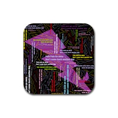 Pain Pain Go Away Drink Coaster (Square)