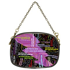 Pain Pain Go Away Chain Purse (One Side)