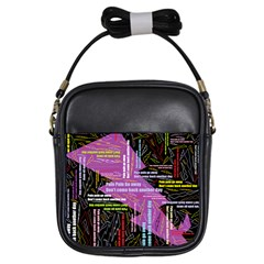 Pain Pain Go Away Girl s Sling Bag