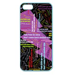 Pain Pain Go Away Apple Seamless iPhone 5 Case (Color)