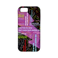 Pain Pain Go Away Apple Iphone 5 Classic Hardshell Case (pc+silicone)
