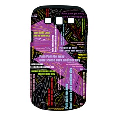 Pain Pain Go Away Samsung Galaxy S Iii Classic Hardshell Case (pc+silicone)
