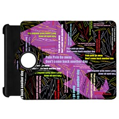 Pain Pain Go Away Kindle Fire HD 7  (1st Gen) Flip 360 Case