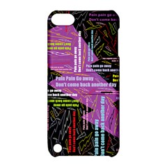 Pain Pain Go Away Apple iPod Touch 5 Hardshell Case with Stand