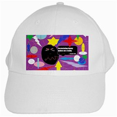 Excruciating Agony White Baseball Cap
