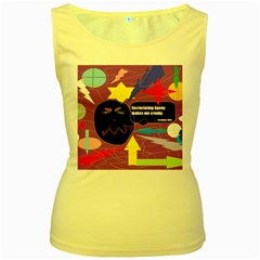 Excruciating Agony Women s Tank Top (Yellow)