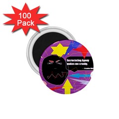 Excruciating Agony 1.75  Button Magnet (100 pack)