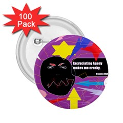 Excruciating Agony 2 25  Button (100 Pack)