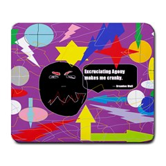 Excruciating Agony Large Mouse Pad (Rectangle)