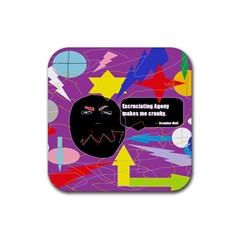 Excruciating Agony Drink Coasters 4 Pack (Square)