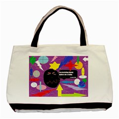 Excruciating Agony Twin-sided Black Tote Bag