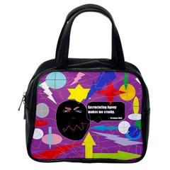 Excruciating Agony Classic Handbag (One Side)
